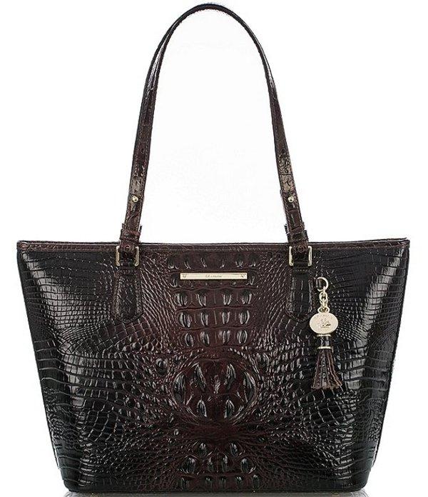 Tasseled レディース Bag Crocodile-Embossed トートバッグ Collection Asher バッグ Melbourne Cocoa Tote Medium Leather ブランミン