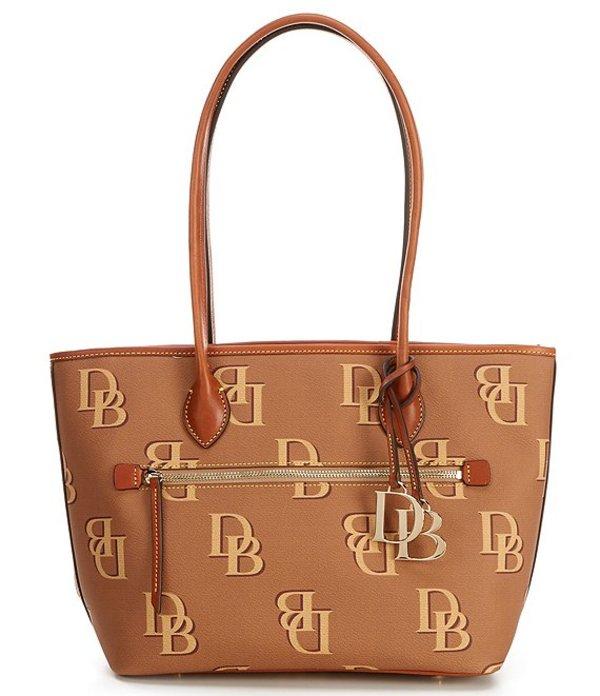 ドーネイアンドバーク Bag バッグ レディース Saddle/Brandy Collection Monogrammed Tote トートバッグ