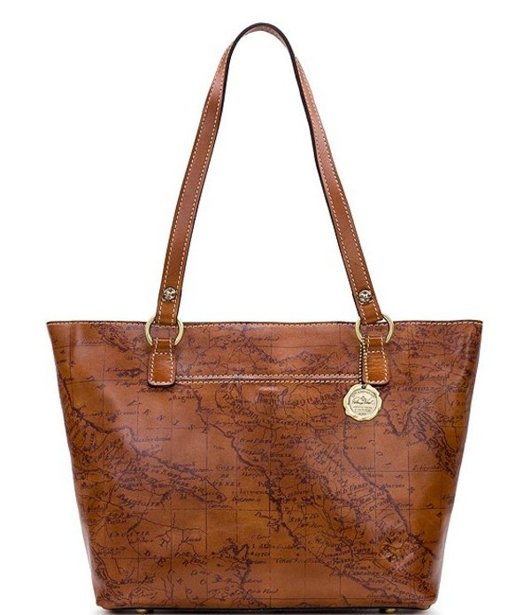 Tote Signature バッグ Bag トートバッグ Map Map レディース Collection Lindsell パトリシアナシュ