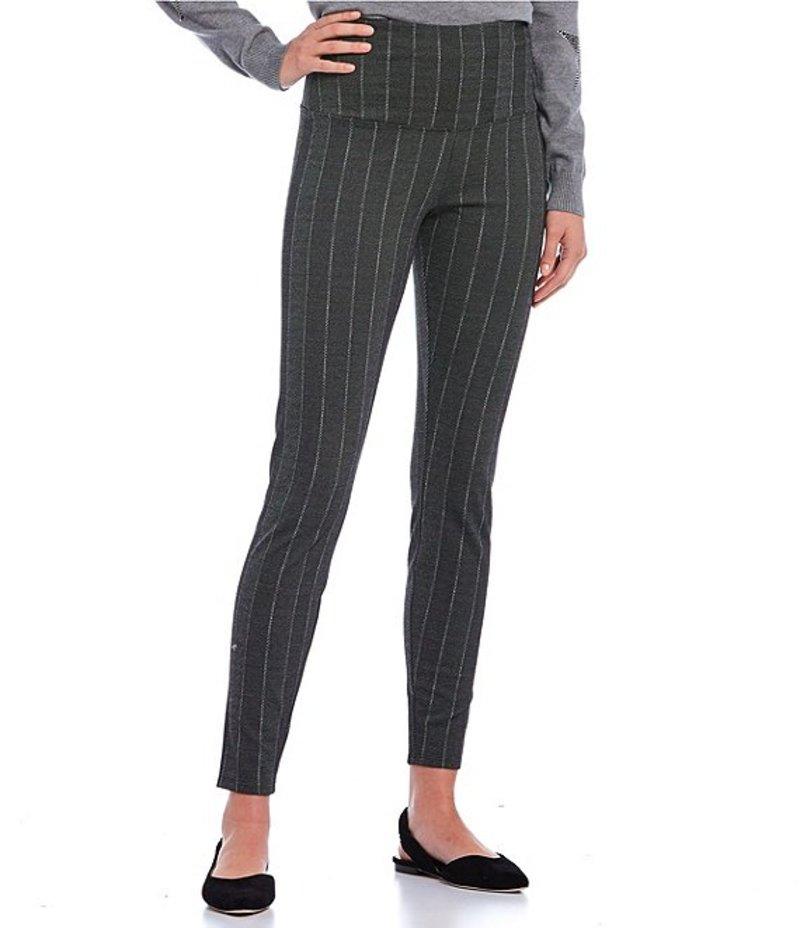 ボトムス カジュアルパンツ Leggings Executive Pinstripe Stripe レディース Signature リジー Textured