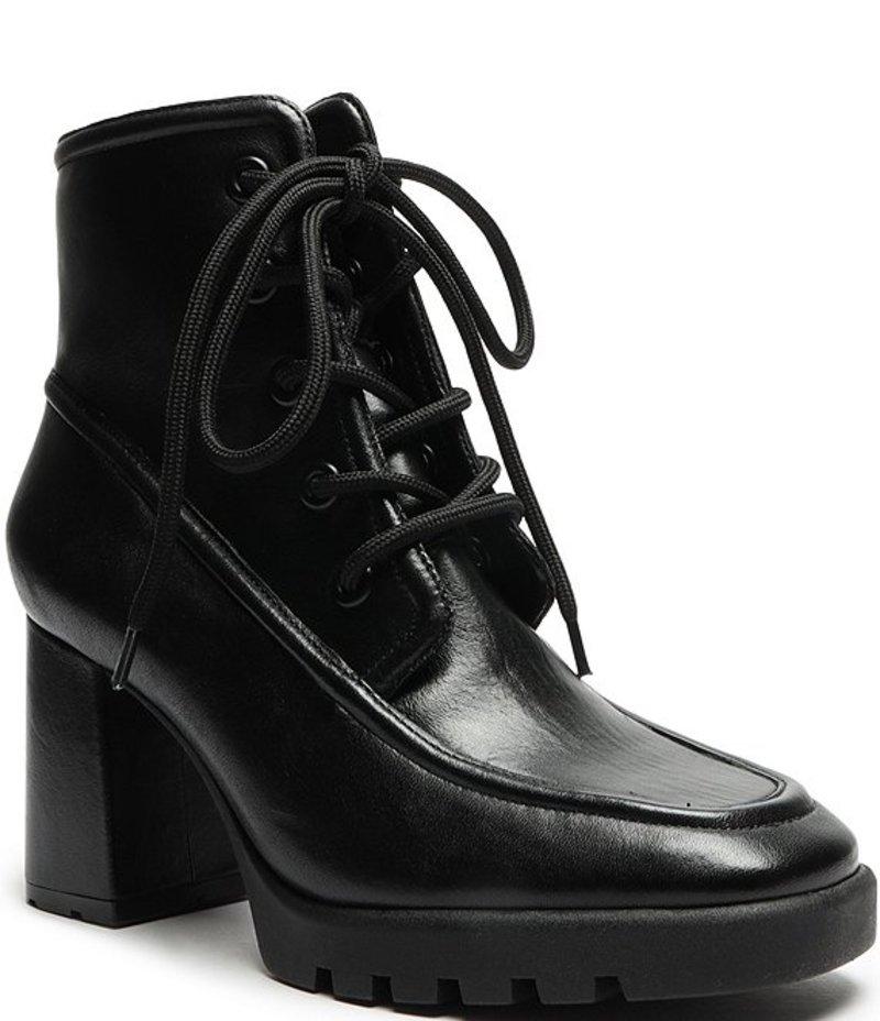 【30%OFF】 シュッツ レディース Leather ブーツ・レインブーツ シューズ Mayah Leather Toe Square Toe Square Block Heel Booties Black, アステック:5aa03ea6 --- celebssnapchat.com