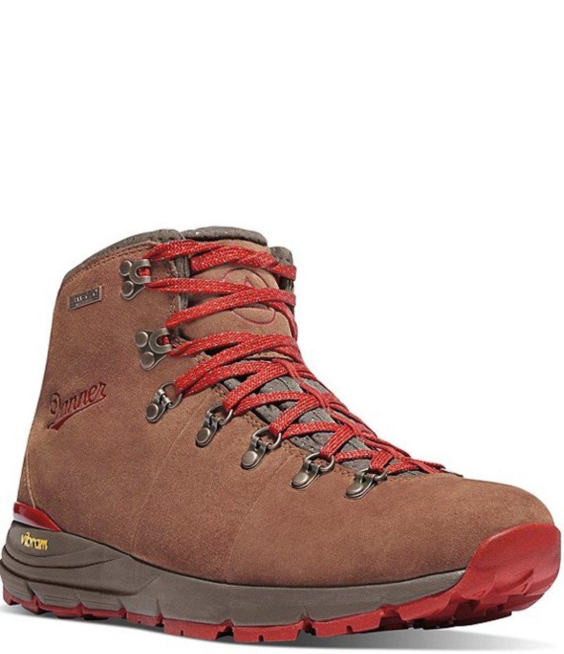 送料無料 サイズ交換無料 ダナー メンズ シューズ ブーツ レインブーツ Brown Red Boots 4.5#double; 600 最安値に挑戦 Waterproof 買い取り Mountain Men's Suede