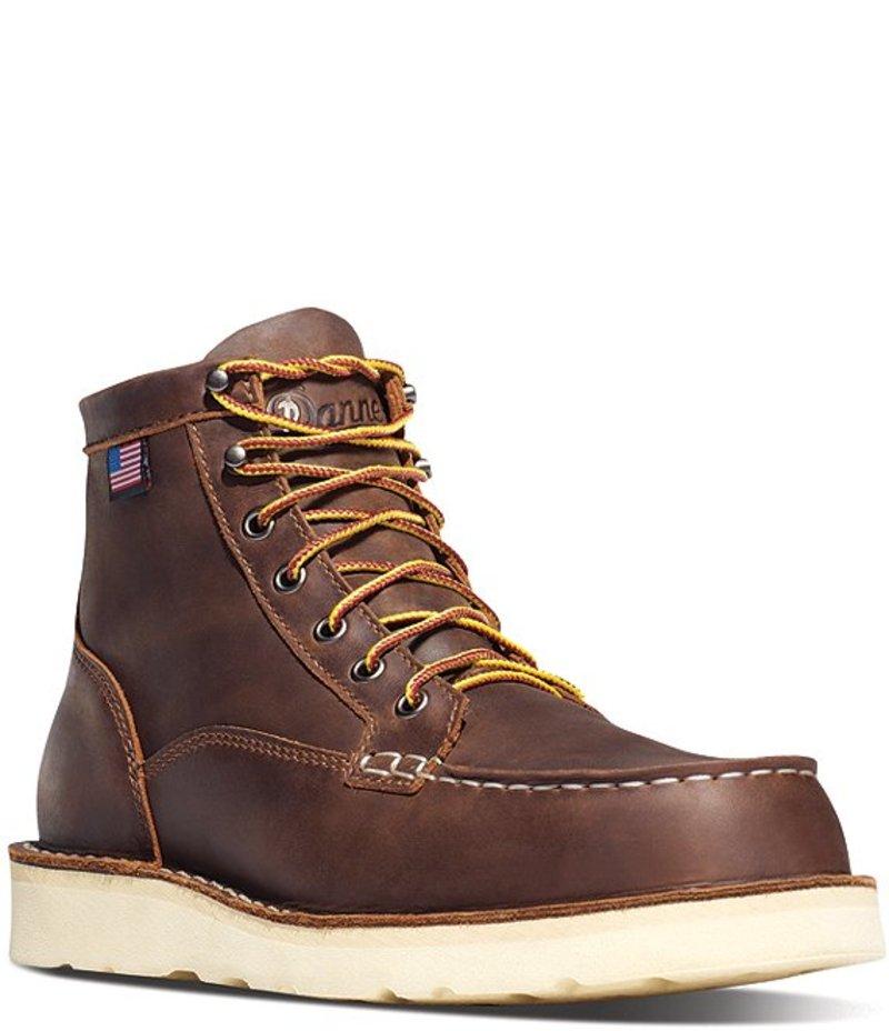 送料無料 サイズ交換無料 ダナー 売却 メンズ シューズ ブーツ レインブーツ Brown Men's 6#double; Boots Work 新品未使用 Toe Run Moc Bull Steel