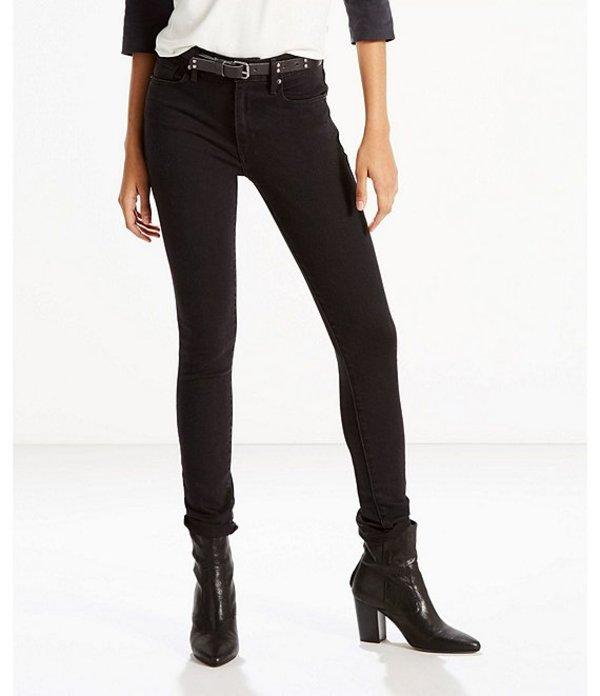 リーバイス レディース デニムパンツ ボトムス Levi'sR 721 High Rise Skinny Jeans Soft Black
