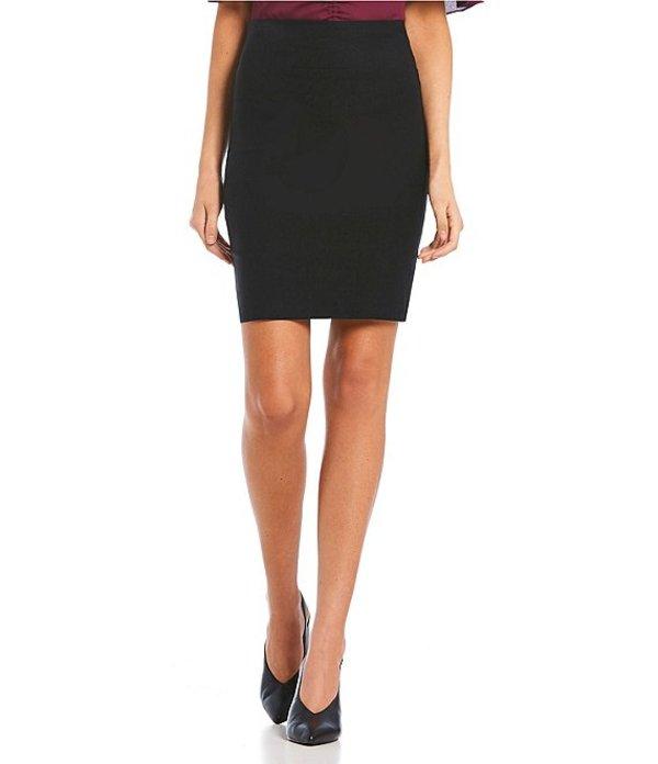 I.N.サンフランシスコ レディース スカート ボトムス Pull On Suiting Dress Skirt Black