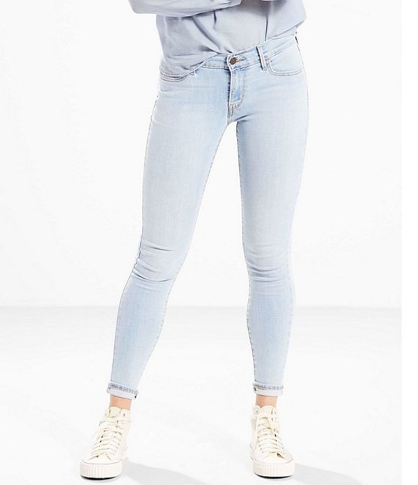 リーバイス レディース デニムパンツ ボトムス Levi'sR 710 Super Skinny Light Wash Jeans Blue