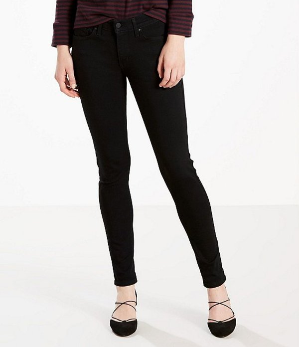 リーバイス レディース デニムパンツ ボトムス Levi'sR 711 Mid Rise Skinny Jeans The Eclipse