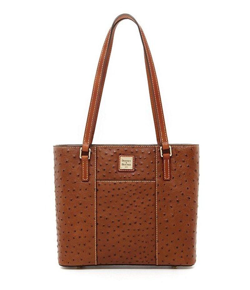 ドーネイアンドバーク Bag Small トートバッグ Ostrich レディース Collection Lexington Tote Cognac バッグ Colorblock