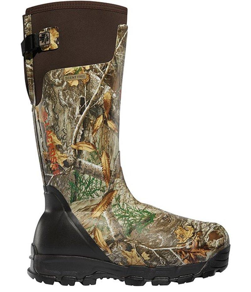 送料無料 サイズ交換無料 ラクロス メンズ シューズ 人気ブランド多数対象 感謝価格 ブーツ レインブーツ Realtree Men's Alphaburly Pro Edge Waterproof 1600G 18#double; Boots