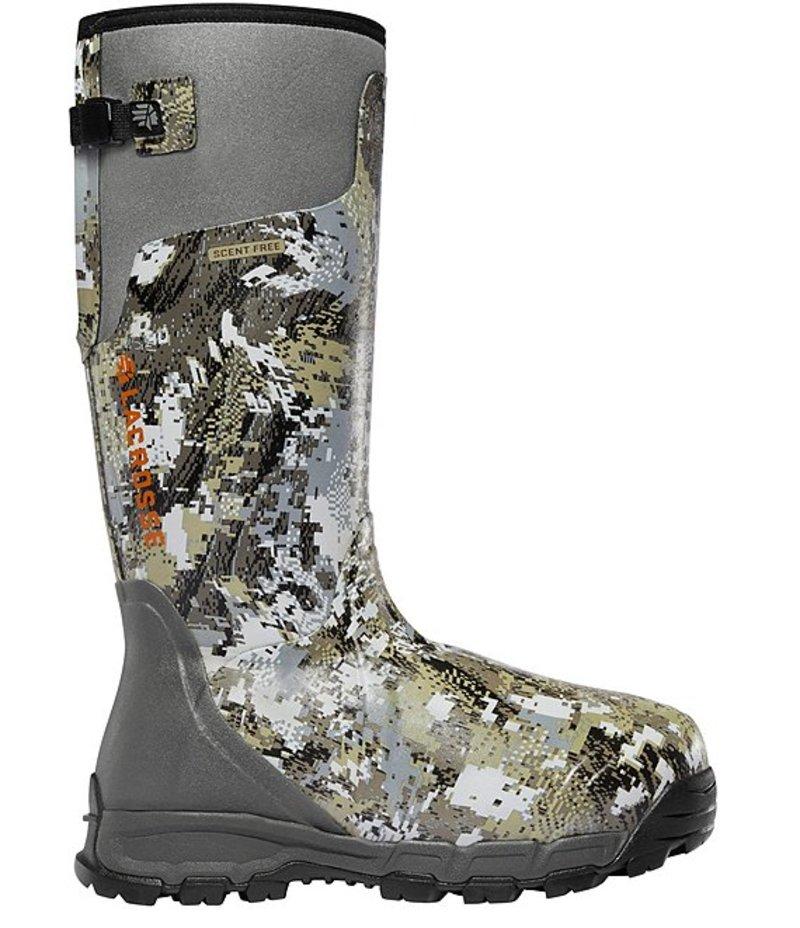 送料無料 サイズ交換無料 ラクロス セール商品 メンズ 現金特価 シューズ ブーツ レインブーツ GORE OPTIFADE Elevated Pro 1600G Boots Men's Waterproof Alphaburly II