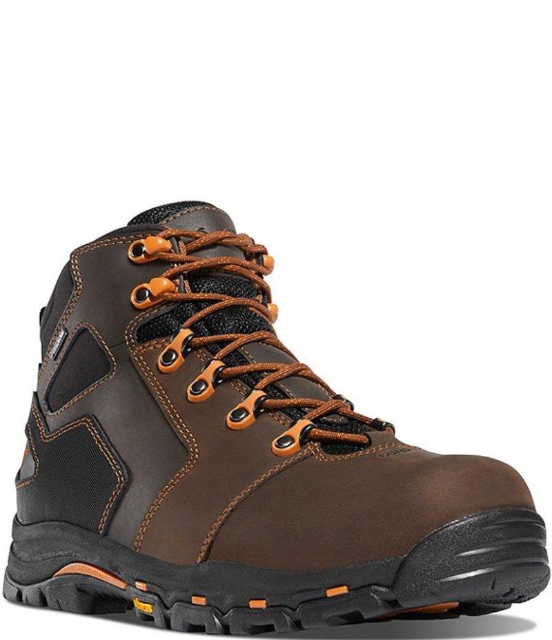 送料無料 サイズ交換無料 ダナー メンズ シューズ セール開催中最短即日発送 ブーツ レインブーツ Brown EH 期間限定で特別価格 Men's Work Orange Boots 4.5#double; Vicious