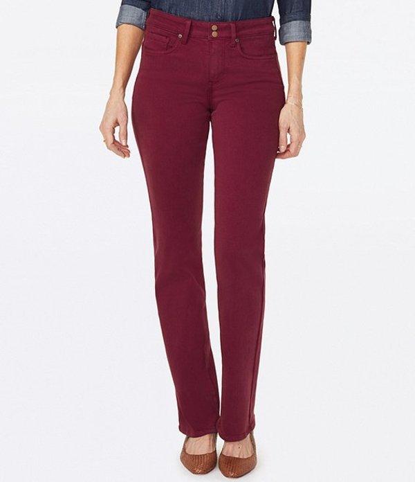 エヌワイディージェイ Size Button Grenache デニムパンツ Marilyn Straight Jeans ボトムス Fly Leg Petite レディース