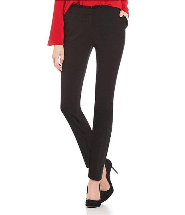 タカラ レディース カジュアルパンツ ボトムス Ruffle Pocket Bi-Stretch Dress Pants Black