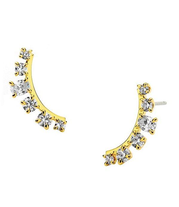 送料無料 サイズ交換無料 ナディール レディース アクセサリー ピアス イヤリング Ear by Nadri 当店は最高な サービスを提供します Crawler 驚きの値段 AJOA Earrings Gold