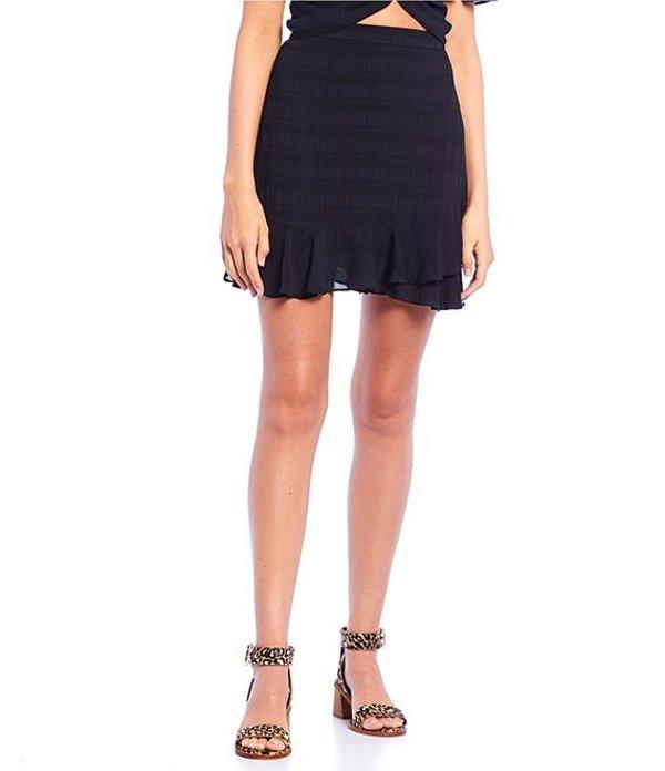 ジービー レディース スカート ボトムス Wrap Skirt black