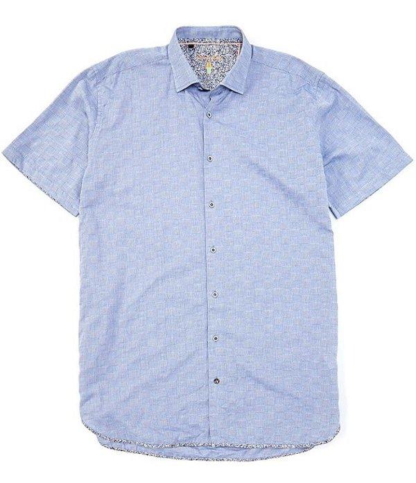送料無料 サイズ交換無料 ビスコッティ メンズ おトク トップス シャツ Blue Tall オープニング 大放出セール Short-Sleeve Big Woven Shirt Chambray