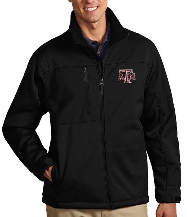Texas Jacket NCAA Water-Resistant ジャケット・ブルゾン アウター and Traverse Aggies A Full-Zip M アンティグア メンズ