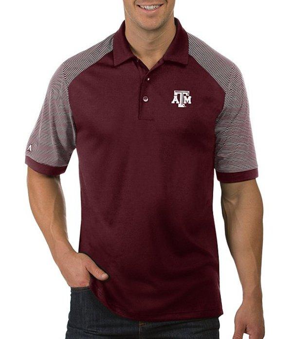 アンティグア メンズ シャツ トップス NCAA Engage Short-Sleeve Polo Shirt Texas A and M Aggies Maroon