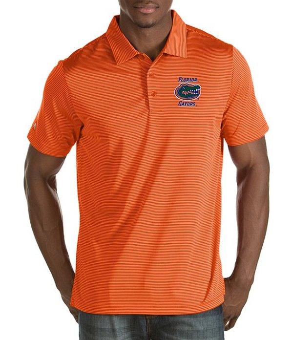 アンティグア メンズ シャツ トップス NCAA Quest Short-Sleeve Polo Shirt Florida State Seminoles/Cabernet/Gold