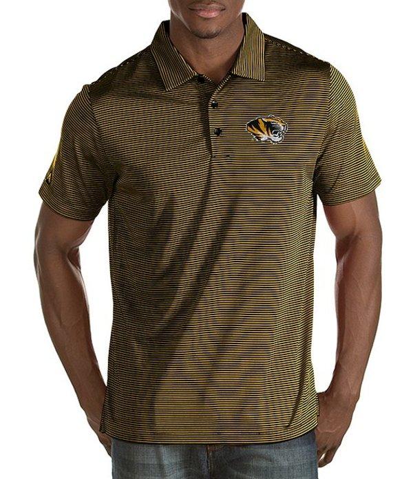 アンティグア メンズ シャツ トップス NCAA Quest Short-Sleeve Polo Shirt Missouri Tigers/Gold