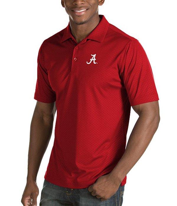 アンティグア メンズ シャツ トップス NCAA Inspire Short-Sleeve Polo Shirt Alabama Crimson Tide Red