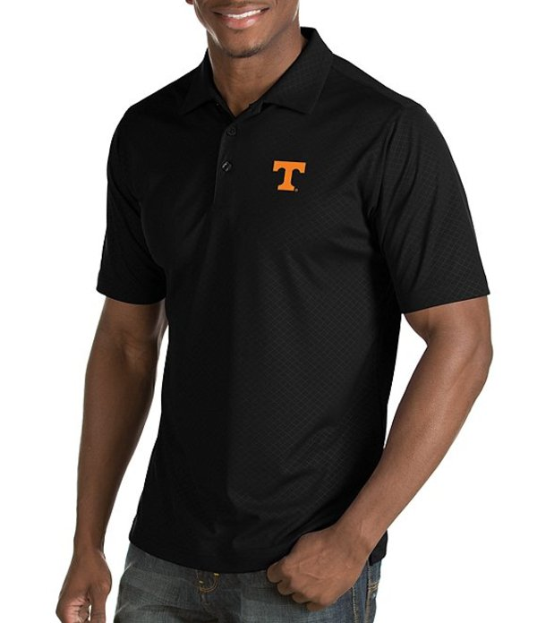 アンティグア メンズ シャツ トップス NCAA Inspire Short-Sleeve Polo Shirt Tennessee Volunteers Black
