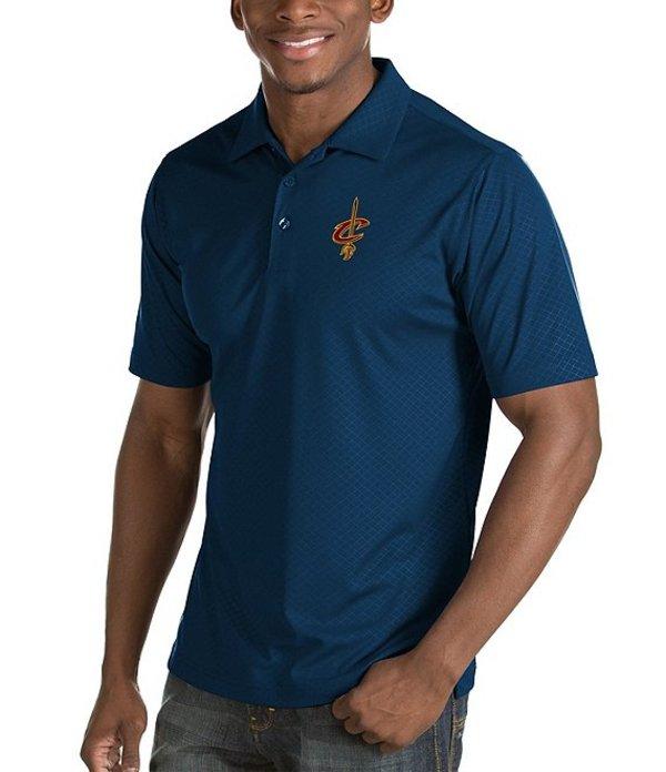 アンティグア メンズ シャツ トップス NBA Inspire Short-Sleeve Polo Shirt Cleveland Cavaliers Navy