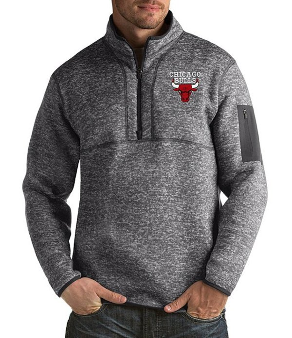 【初回限定お試し価格】 アンティグア メンズ パーカー Fortune・スウェット アウター NBA Bulls Fortune Quarter-Zip Smoke Pullover Chicago Bulls Smoke:ReVida 店, HEARTEX SHOP:814c6dab --- nagari.or.id