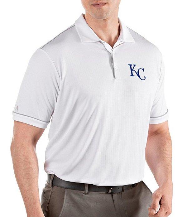 アンティグア メンズ シャツ トップス MLB Salute Short-Sleeve Polo Shirt Kansas City Royals White