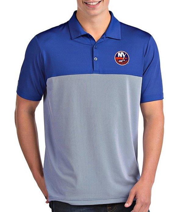 アンティグア メンズ シャツ トップス NHL Venture Short-Sleeve Polo Shirt New York Islanders Dark Royal
