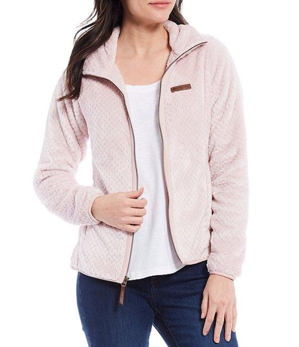 送料無料 サイズ交換無料 コロンビア レディース アウター パーカー スウェット Fire Pink 流行 注目ブランド Mineral Fleece Jacket Side Sherpa
