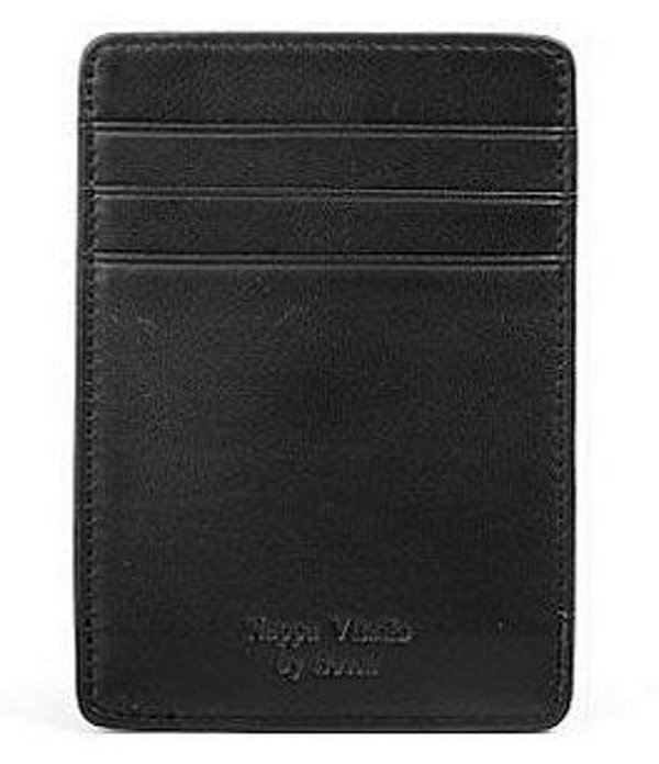 ボスカ メンズ 財布 アクセサリー Deluxe Front-Pocket with Clip Wallet Black