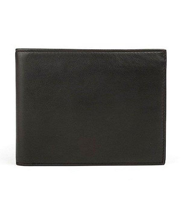 ボスカ メンズ 財布 アクセサリー Continental ID Wallet Black