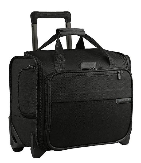 メンズ Black Carry-On Bag Rolling スーツケース Cabin バッグ ブリグスアンドライリー Baseline