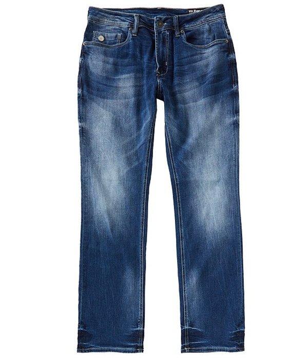 バッファロー・デイビッド・ビトン メンズ デニムパンツ ボトムス Evan-X Slim Straight Medium Wash Low-Rise Jeans Indigo