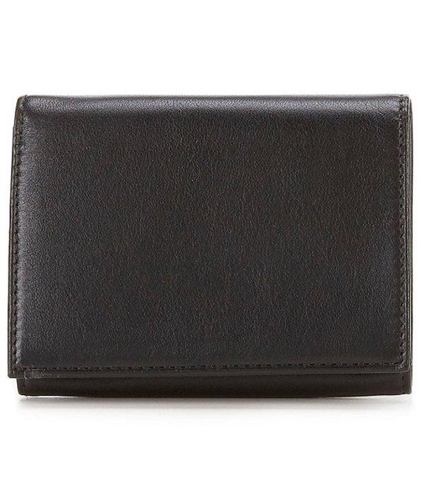 ボスカ メンズ 財布 アクセサリー Nappa Vitello Single I.D. Trifold Wallet Black