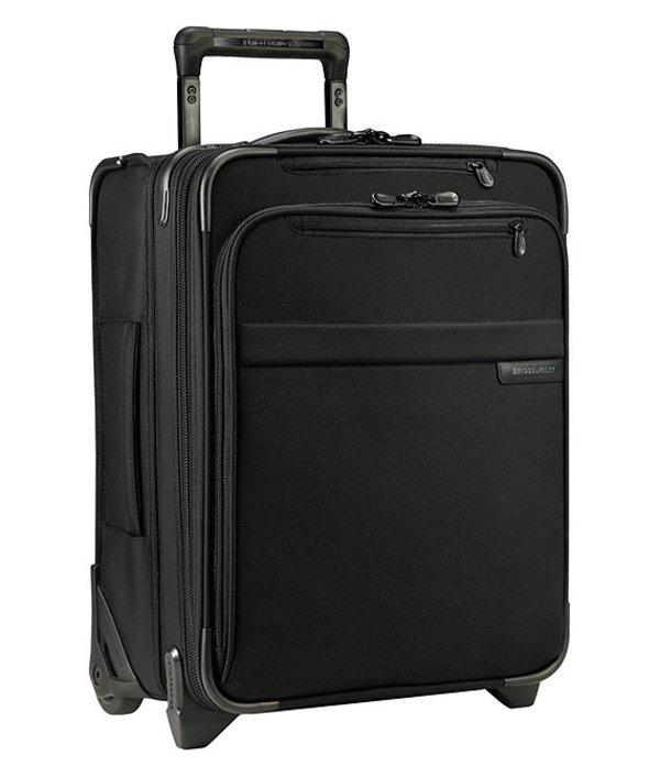 ブリグスアンドライリー メンズ スーツケース バッグ Baseline Commuter Expandable Upright Black