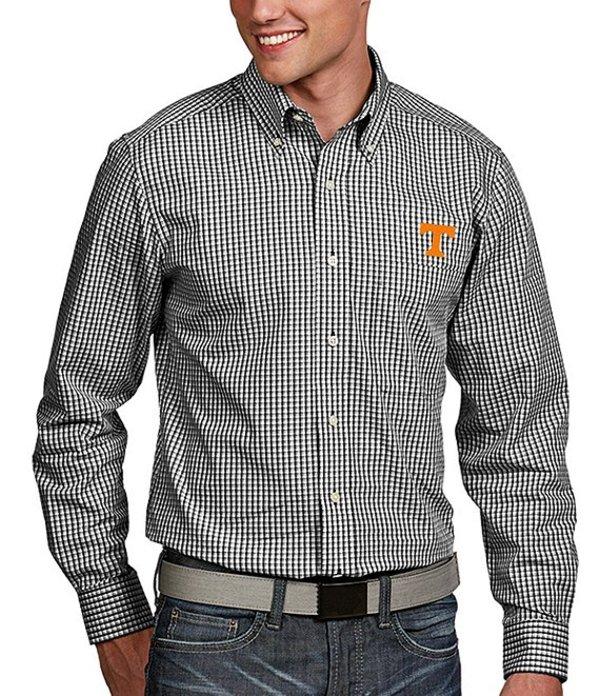 アンティグア メンズ シャツ トップス NCAA Associate Long-Sleeve Woven Shirt Tennessee Volunteers