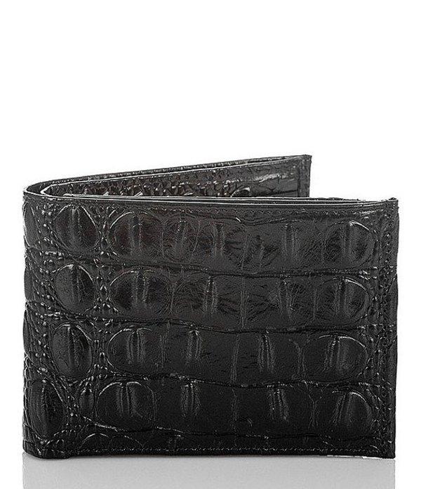 ブランミン メンズ 財布 アクセサリー Melbourne Slimfold Wallet Black