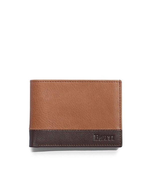 ボーン メンズ 財布 アクセサリー Men's Slim Bifold Wallet Tan Multi