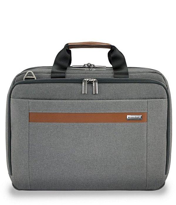 ブリグスアンドライリー メンズ スーツケース バッグ Medium Expandable Briefcase Grey