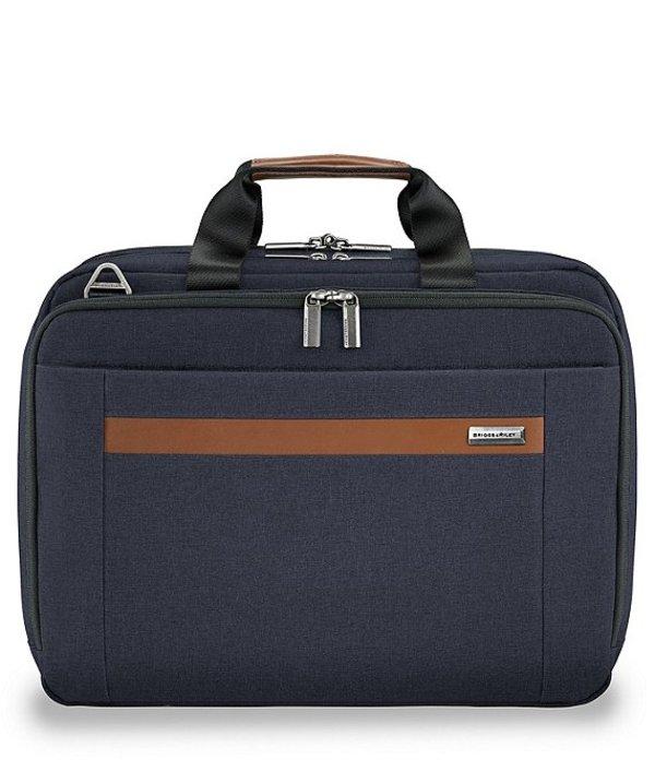ブリグスアンドライリー メンズ スーツケース バッグ Medium Expandable Briefcase Navy