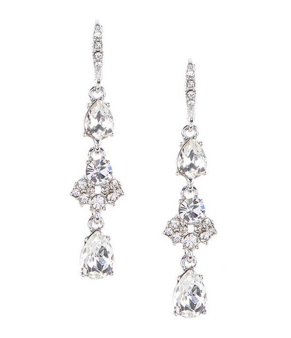送料無料 通常便なら送料無料 サイズ交換無料 ジバンシー レディース アクセサリー ピアス Crystal 今だけスーパーセール限定 イヤリング Linear Silver Earrings