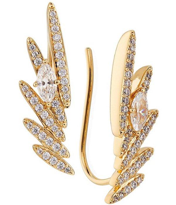 送料無料 サイズ交換無料 ナディール レディース アクセサリー ピアス イヤリング Ear Earrings 毎週更新 Leah Gold Wing チープ Climber