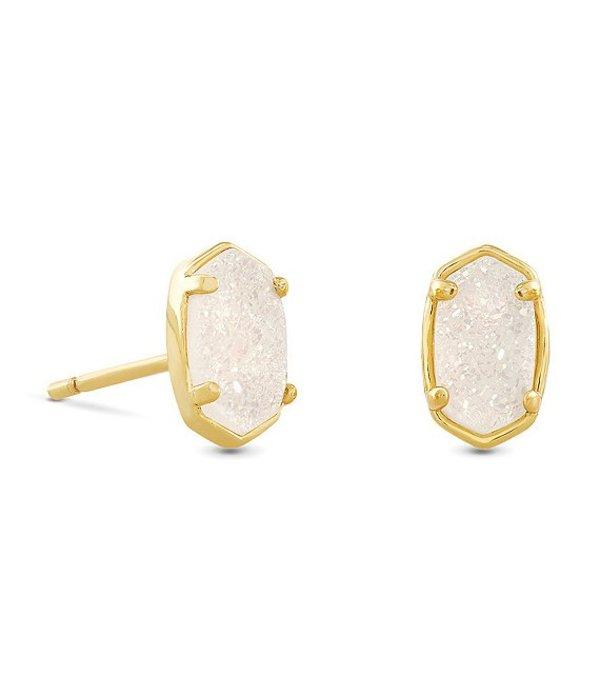 送料無料 好評受付中 サイズ交換無料 ケンドラスコット レディース アクセサリー 国産品 ピアス イヤリング Gold Stud Drusy Emilie Iridescent Earrings
