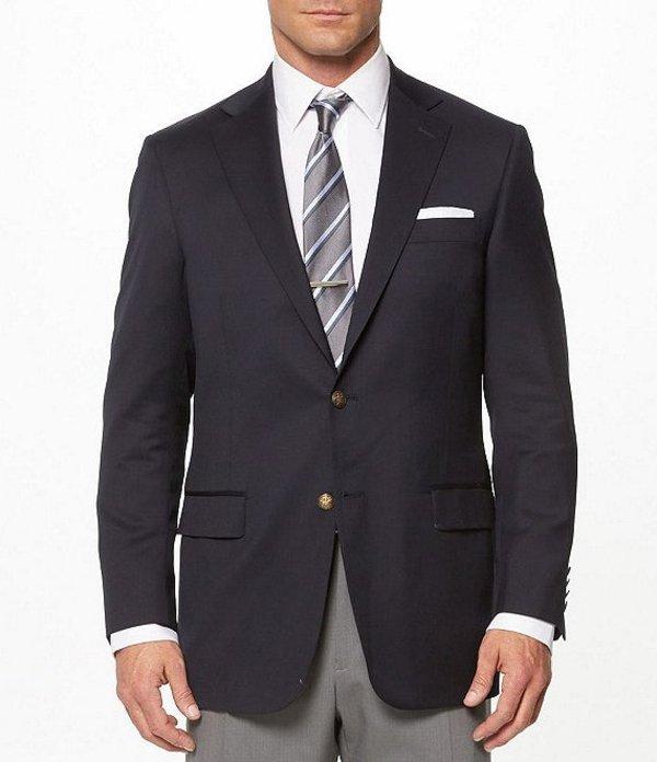 ハート シャフナー マルクス メンズ ジャケット・ブルゾン アウター Chicago Fit American Blazer Navy