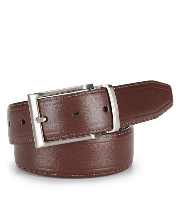 ダニエル クレミュ メンズ カジュアルパンツ ボトムス Reversible Casual Leather Belt Brown