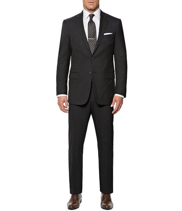 ハート シャフナー マルクス メンズ ジャケット・ブルゾン アウター New York Modern-Fit Performance Suit Charcoal