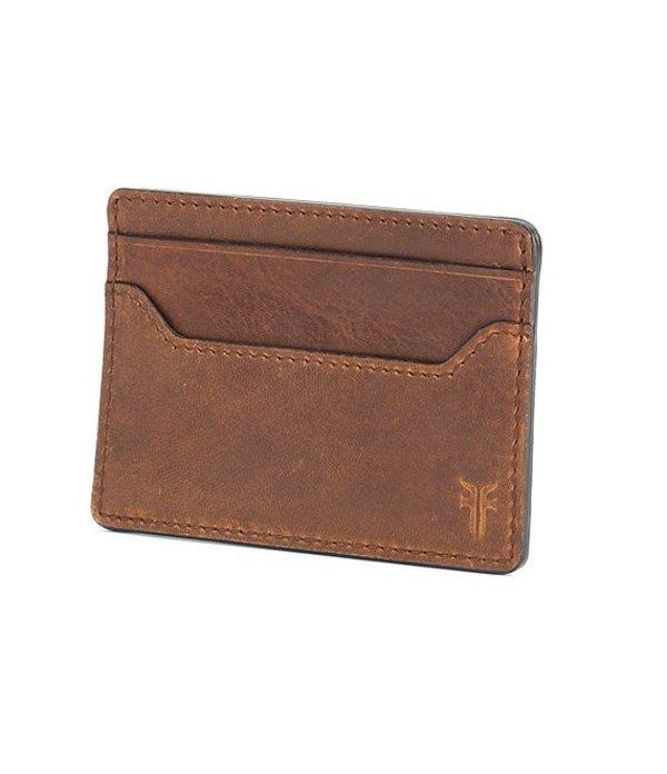 フライ メンズ 財布 アクセサリー Logan Money Clip Card Case Cognac