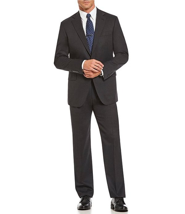 ハート シャフナー マルクス メンズ ジャケット・ブルゾン アウター Classic Fit Solid Suit Grey